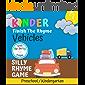 Kinder Finish The Rhyme: Vehicles: Silly rhyme game for kids | Kindergarten Preschool | Vehicles, Cars, Trucks