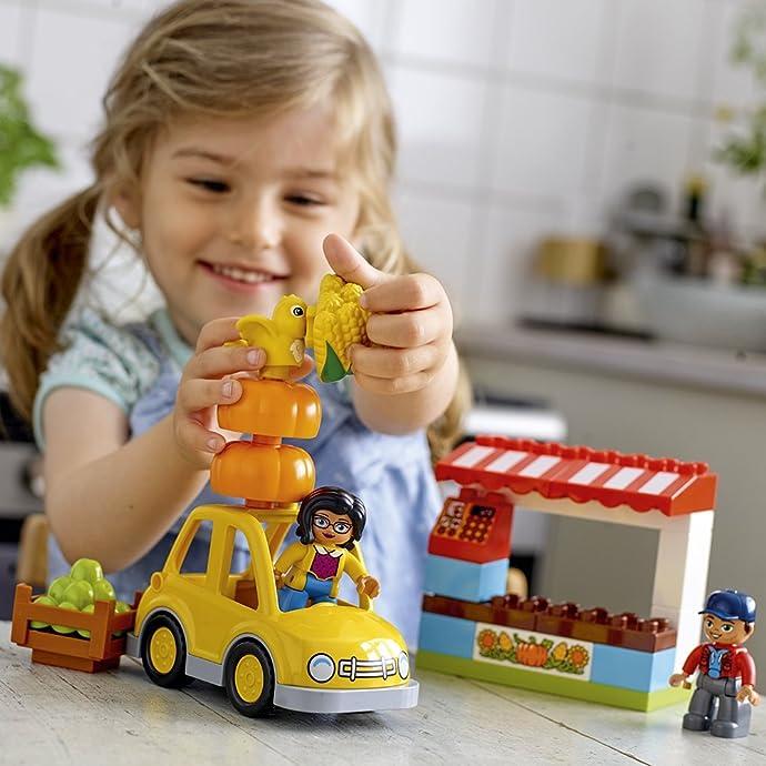LEGO 乐高 DUPLO得宝系列 10867 乐趣果蔬市场 积木玩具 6折$11.99史低 海淘转运到手约¥119