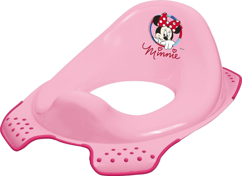 2er Set Z Disney Minni Maus WC Aufsatz Hocker zweistufig Toilettentrainer