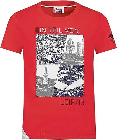 RB Leipzig Member T Shirt, Rosso Bambina Maglietta, RasenBallsport ...