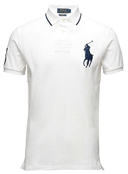 a64e60140019a Image Unavailable. Image not available for. Color  Polo Ralph Lauren Mens  Big   Tall Mesh Classic Fit Big Pony ...