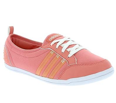 adidas neo Piona W Schuhe Damen Ballerina Halbschuhe Rosa F97720
