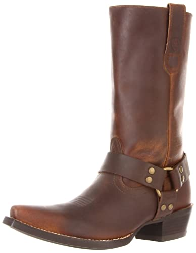 Amazon.com | Ariat Women's Hollywood Boot, Powder Brown, 8 5E US ...