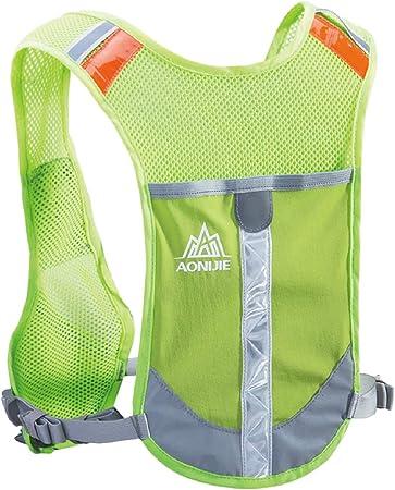 Azarxis Hydration Backpack Runner Rucksack Running Pack Vest Lightweight with 2L Water Bladder for Men Women Trail Marathon Jogging Cycling Hiking Climbing