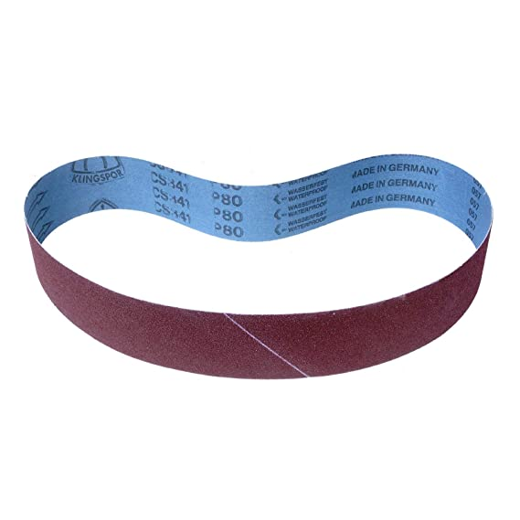 75 x 457 mm gemischte K/örnungen 7-teiliges Premium-Set VSM ZK713X Schleifband