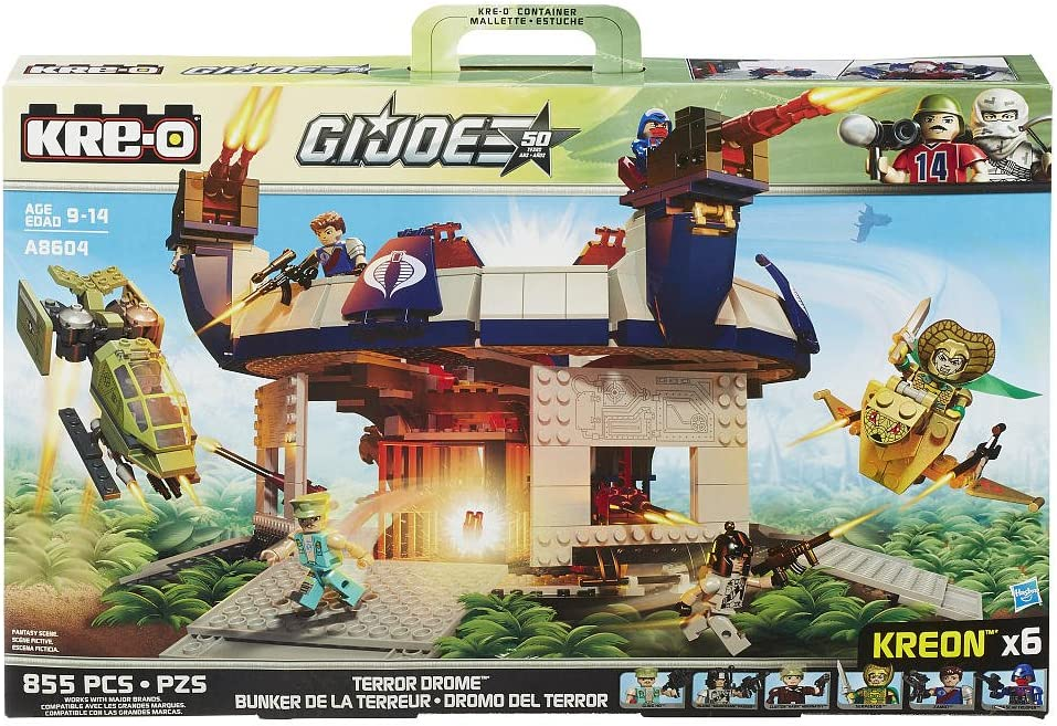 Kre-O G.I. Joe Cobra Terror Drome Playset A8604 by Hasbro