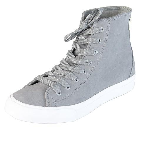 e272569db9c Amazon.com | Saturdays NYC Men's Mike Suede High Top Sneaker Slate ...