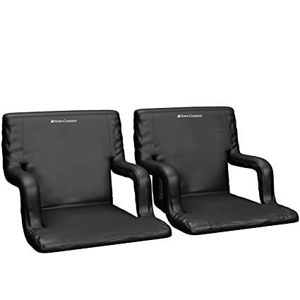 Beau Extra Wide Stadium Seat Chair For Bleachers Or Benches   Enjoy Padded  Cushion Backs And Armrest