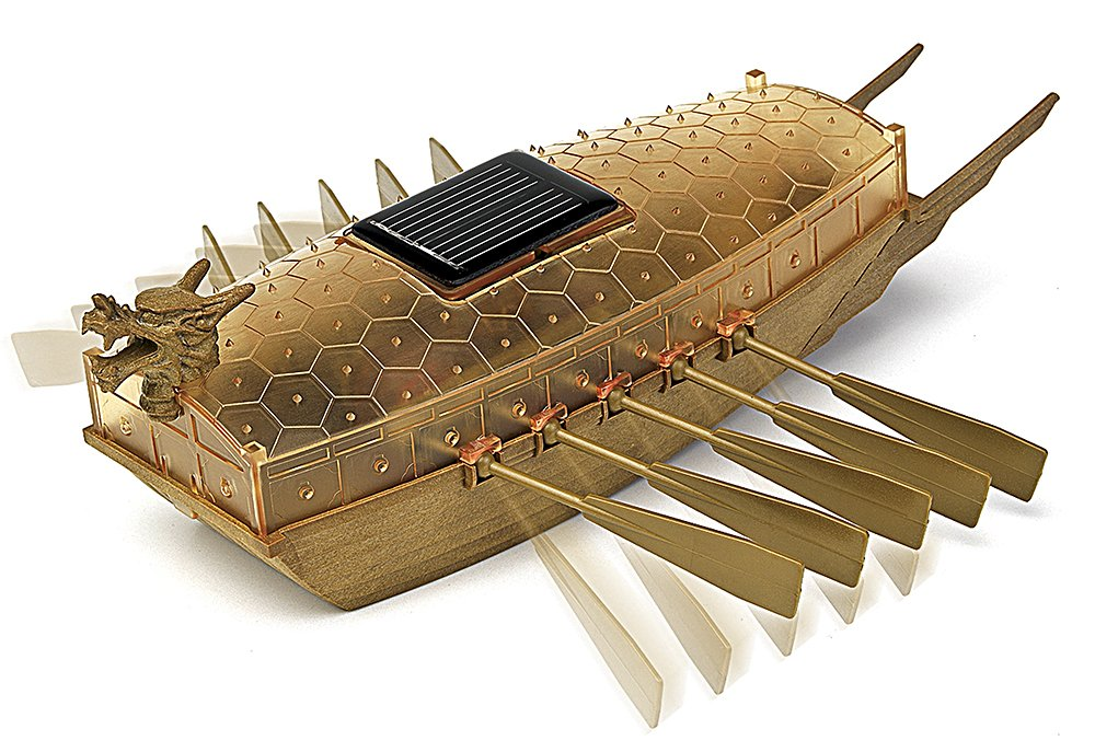 Amazon.com: Academy Solar Powered Turtle Ship: Toys & Games