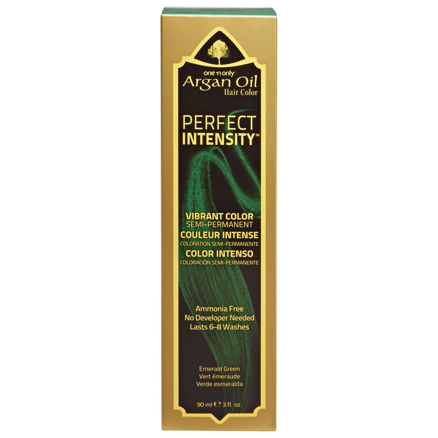 Amazon One N Only 3ch Dark Chocolate Brown Permanent Hair