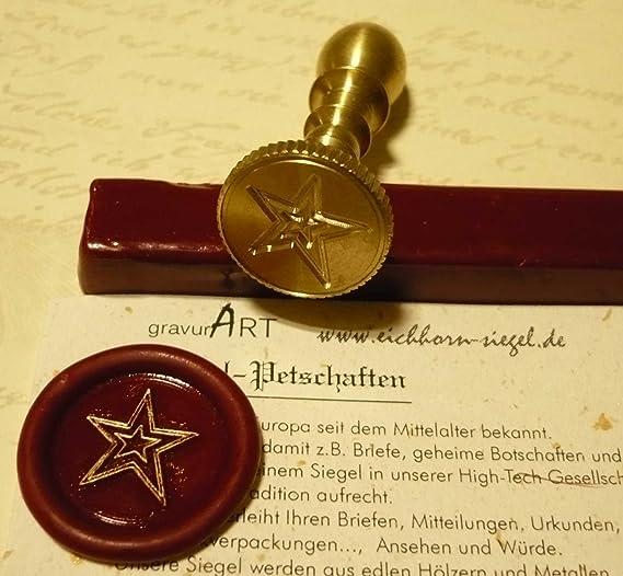 Umschlag Zollzubeh/ör Siegelwachs aus Messing Siegelstempel Retro A Nesrunx Siegelstempel zylindrisch