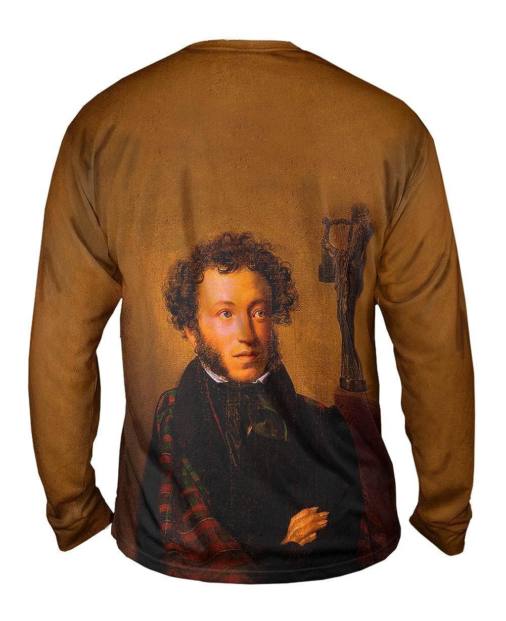 Alexander Pushkin Yizzam- Kiprenskiy 1827 -TShirt- Mens Long Sleeve
