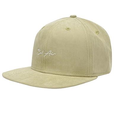 Soul Cal Mens City Snapback Flat Peak Cap Bel Air Adults  Amazon.co ... 008d5bf3c52
