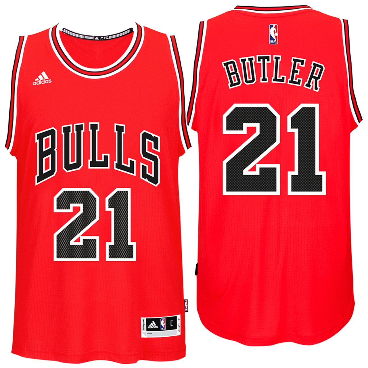 23cd43ea new zealand adidas chicago bulls adult basketball swingman jersey red 44de3  8b812