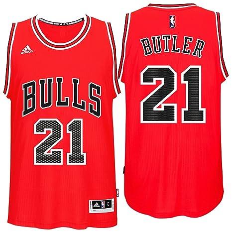 newest collection deffb 5e334 Amazon.com : Jimmy Butler Chicago Bulls Adidas Road Swingman ...
