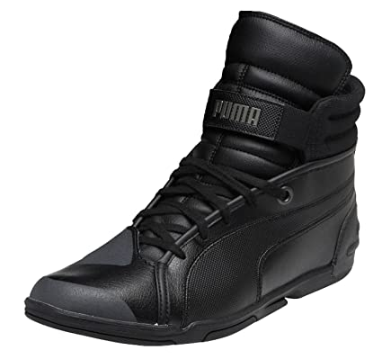d4f74f7933c Puma Motorbike Basketball Black Size  5 UK  Amazon.co.uk  Shoes   Bags