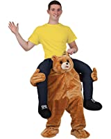 Carry Me Teddy Bear - Adult Costume Adult - One Size