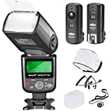Neewer 750II TTL Flash Kit for Nikon D7200 D7100 D7000 D5500 D5300 D5200 D5100 D5000 D3300 D3200 D3100 D3000 D700 D600…