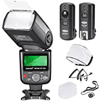 Neewer PRO i-TTL Camera Flash Kit Compatible with Nikon DSLR D7100 D7000 D5300 D5200 D5100 D5000 D3200 D3100 D3300 D90…