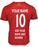 Manchester United Soccer Training Jersey-Blue/White Customized Any Name