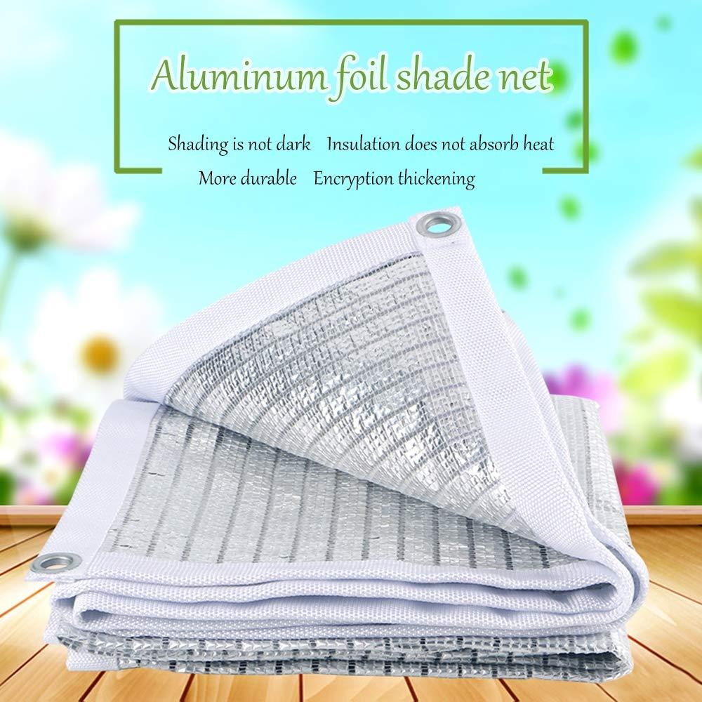 1m Vela Solare Tenda Parasole Permeabile Utilizzabile per Giardino Balcone Terrazza Protezione Solare Vele Parasole,1 ZFM Tenda da Giardino
