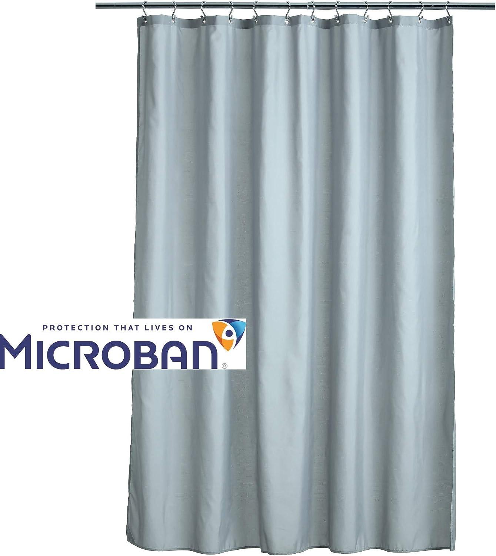 100/% Peva Solid Bath Tub Shower Curtain Liner Mildew Resistant 72in x 70in