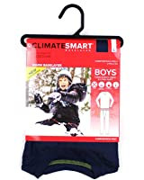 Cuddl Duds Boys Climatesmart Base Layer Thermal Comfortech Set