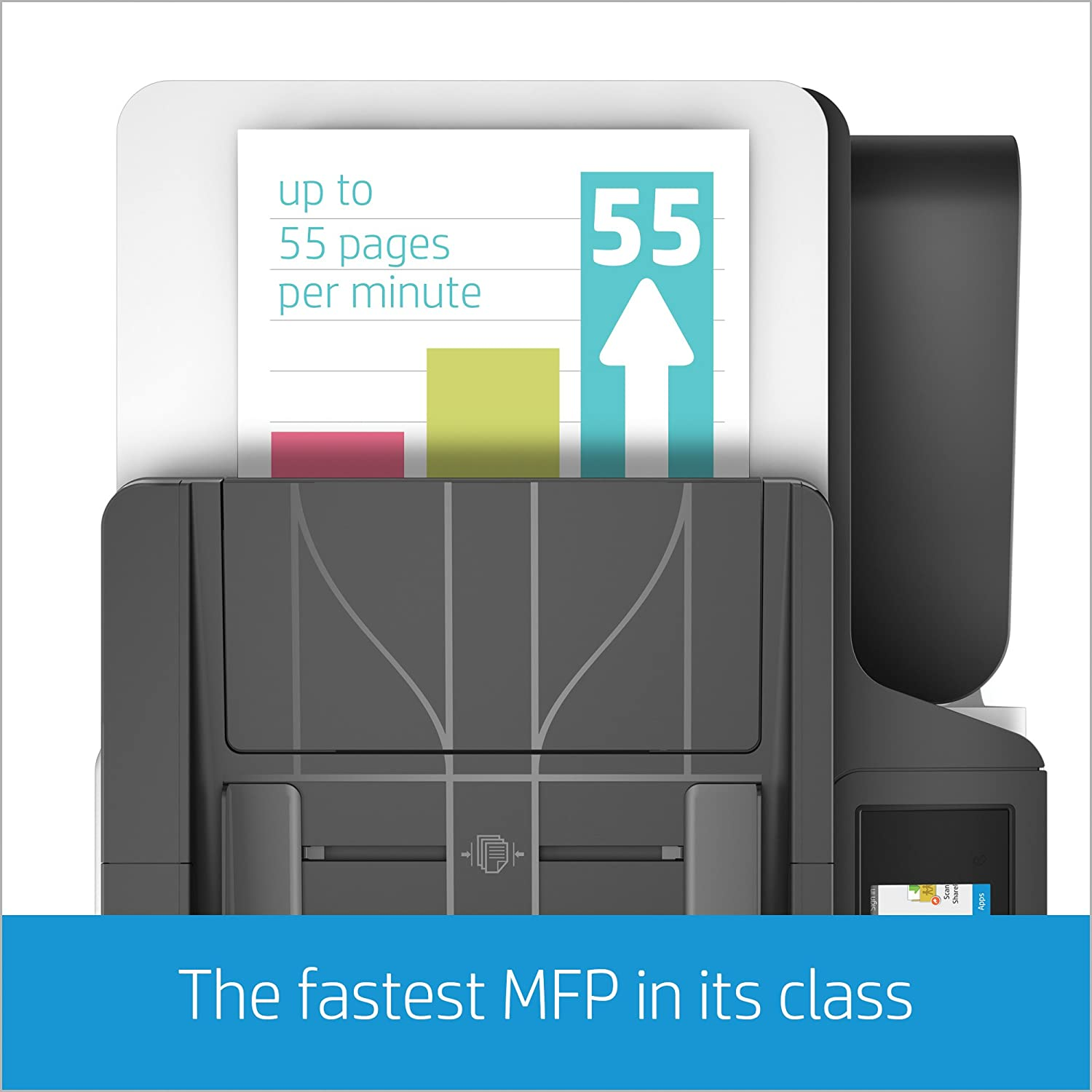 Amazon HP PageWide Pro 477dn All in e Color Printer with 2