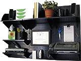 Wall Control 10-OFC-300 BB Office Wall Mount Desk Storage and Organization Kit  sc 1 st  Amazon.com & Amazon.com: Respirator Storage Cabinet Black/Yellow: Industrial ...