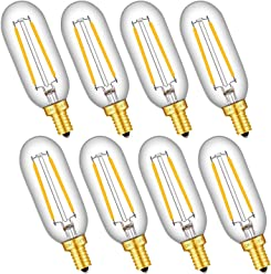 E26 Medium Base G40 // G125 Vintage Edison Style Lengthened LED Filament Globe Light Bulbs Non-dimmable OMAYKEY 14W LED Globe Bulb 130W Equivalent 3000K Soft White 1300LM