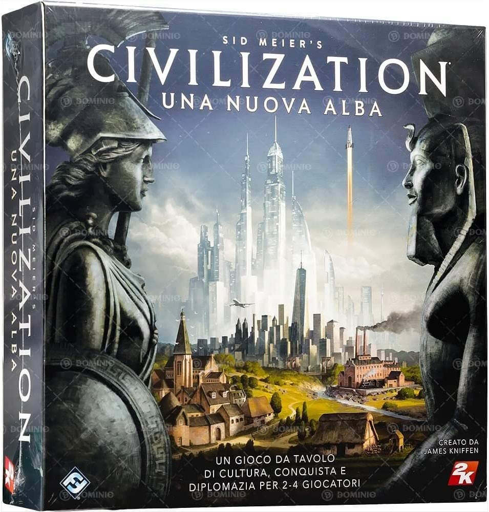 Asmodee Italia SID s Civilization juego de mesa, Color Azul, civ01 , color/modelo surtido: Amazon.es: Juguetes y juegos