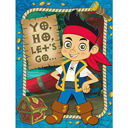 Image Unavailable Not Available For Color Jake And The Never Land Pirates Invitation