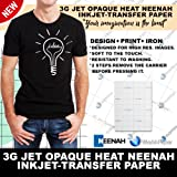"""Neenah 3G Jet Opaque Heat Transfer Paper 8.5"""" x 11"""" (Pack of 10 sheets)"""