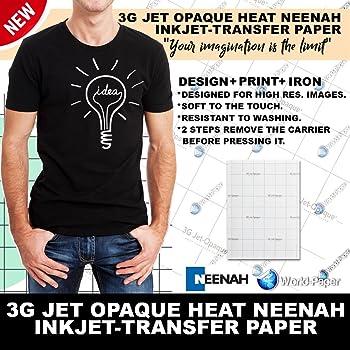 Neenah 3g Jet-Opaque Heat Transfer Paper