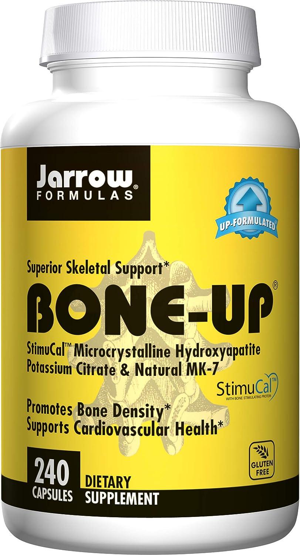 Jarrow Formulas Bone-up, Promotes Bone Density, 240 Capsules: Health & Personal Care
