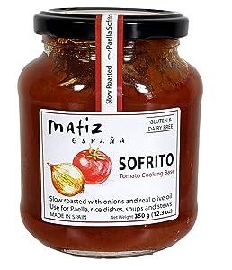 Matiz Sofrito, Traditional Valenciano Paella Base, Family Recipe, 12.3 Ounce