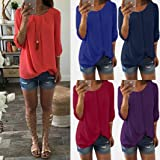 Forthery Clearance Women Tops Newest Chiffon