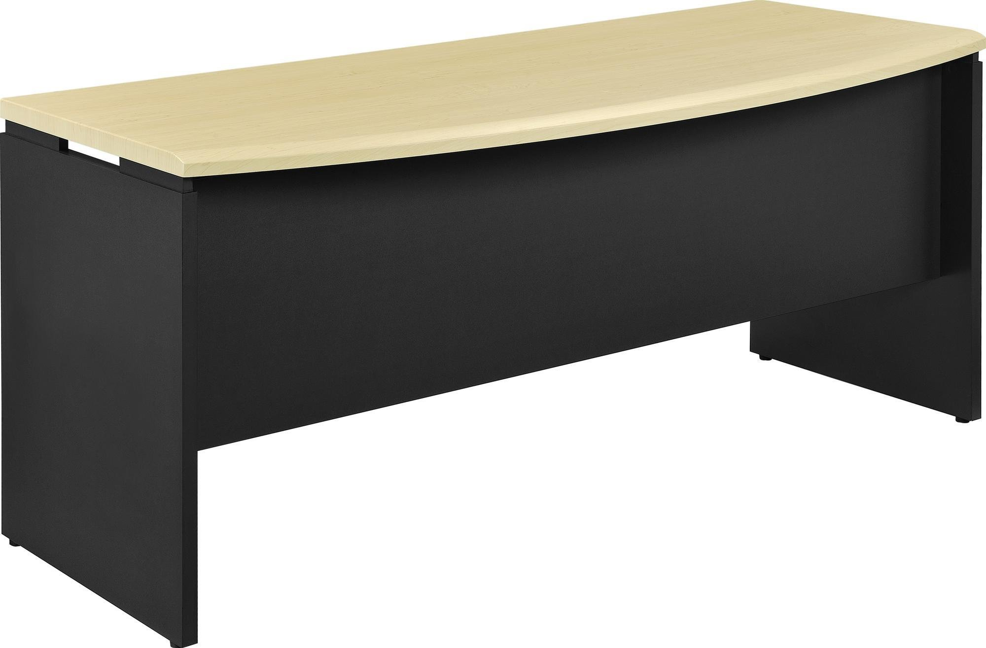 Ameriwood Home Pursuit Executive Desk, Natural/Gray
