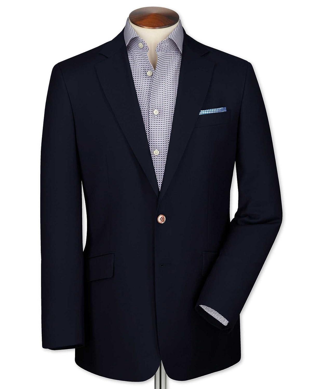 Charles Tyrwhitt Classic fit navy wool blazer