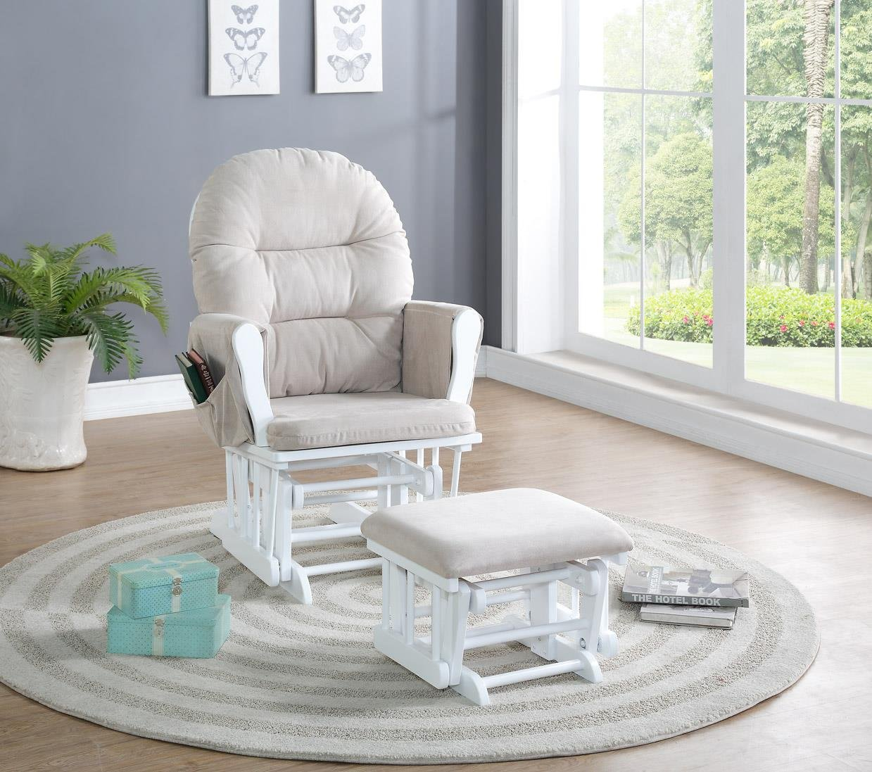 glider rocking chair cushions nursery gallery