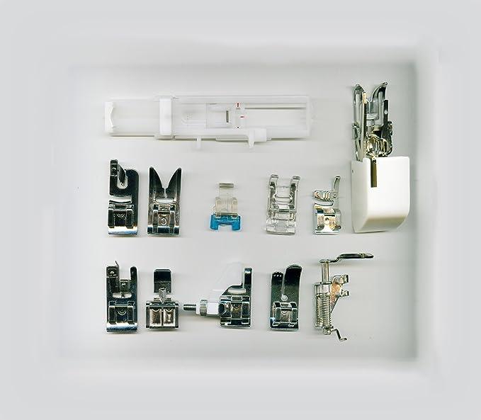 Máquina de Coser Electrónica 404, 170 Puntadas con Alphabet, Mesa de acolchar, acolchar pie, Funda rígida + € 200,00 Valor de LIBERE los Accesorios ...