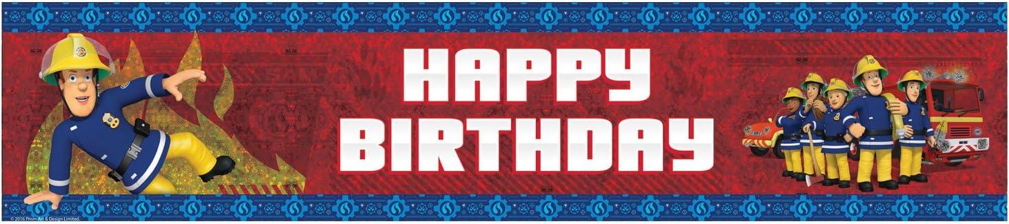 Amazon.com: 8.9 foot X 7.9 inch pancarta de feliz cumpleaños ...