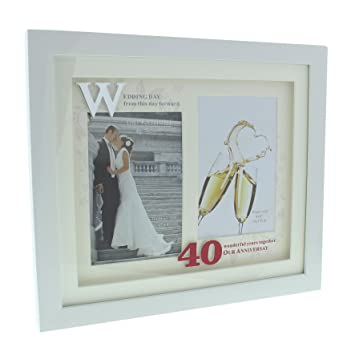 ukgiftstoreonline Personalised First Wedding Anniversary Multi Photo ...
