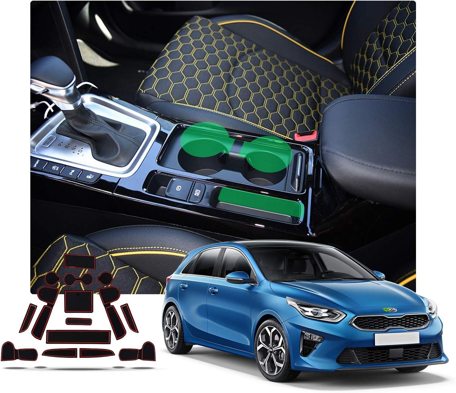 Tappetino In Gomma Tappetino Vasca KIA CEED III CEE /'D CD posteriore acciaio per superiore B anno 2018 GKK