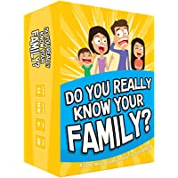 Do You Really Know Your Family? A Fun Family Game Filled with Conversation Starters and Challenges - Great for Kids…
