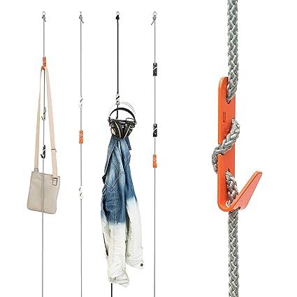 Ganchos de cuerda - Organizador de entrada. Mejor para ...