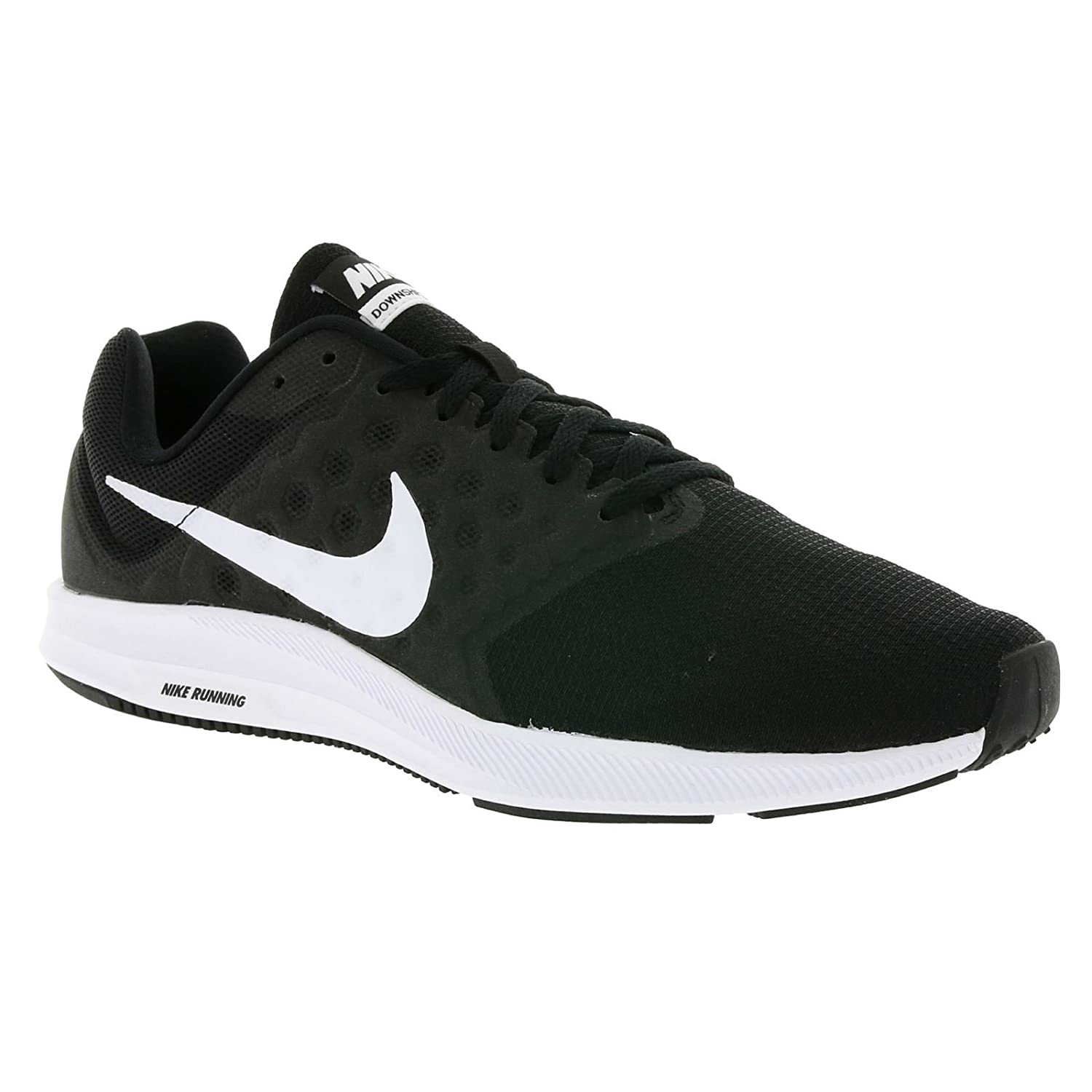 e83c26d3f Nike Men's Downshifter 7 Black/White Running Shoes-10 UK 45 Euro  (852459-002-BLACK/WHITE-10): Buy Online at Low Prices in India - Amazon.in