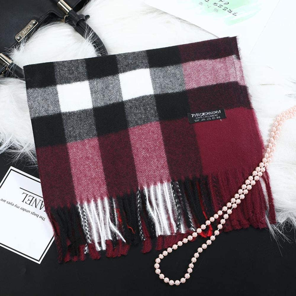 Autumn and winter scarf ﹖ 2019 trend warm scarf and plaid scarf with and thickening