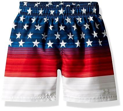 578ae23f4f Amazon.com: Under Armour Boys Volley Swim Trunk, Americana Red Medium:  Clothing