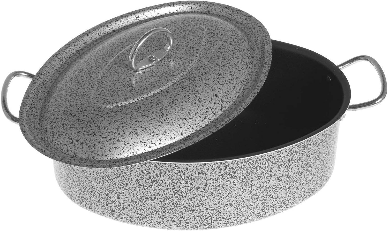 Rivestimento Antiaderente con Beccuccio Versatore Home Salt NPepper Bollilatte in Alluminio 10 cm
